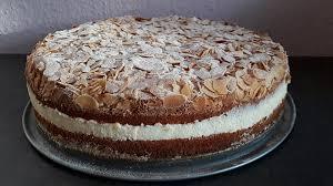 zitronen vanille creme torte
