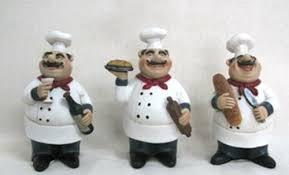 Italian Bistro Chef Kitchen Decoration Set 3