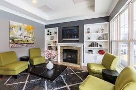 Leasing Office Waiting Area At Galleria Village Apartment Homes In Charlotte North Carolina NC