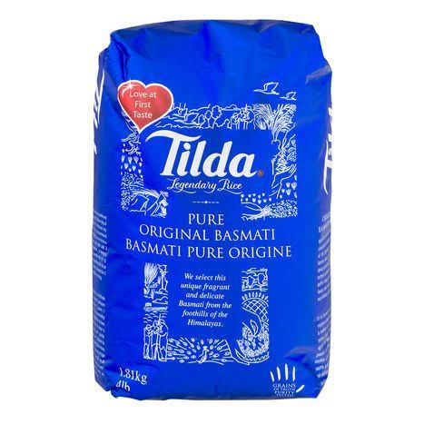 Tilda Pure Original Basmati Legendary Rice - 4lbs