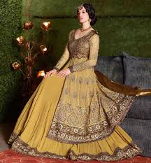 latest indo western party wear dresses long gown for women
