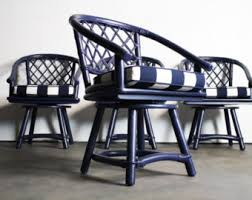 Ficks Reed Lounge Chair by Ficks Reed Etsy