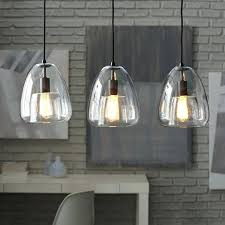 pendant lighting kitchen light fixtures vintage pendants clear