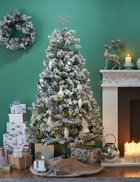 6ft Christmas Tree With Decorations by 6ft Snowy Christmas Tree M U0026s
