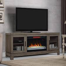 Ameriwood Media Dresser 37 Inch berkeley infrared electric fireplace tv stand w glass in spanish