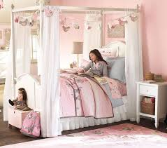 Pottery Barn Bedroom Sets by Perfect Pottery Barn Canopy Bed Decor Modern Wall Sconces And