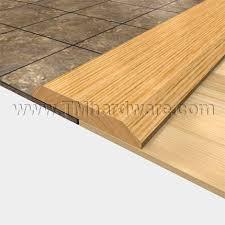 wide wooden doorway threshold or seam binding 5 00 wide and 5