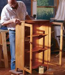 build a bookcase with doors finewoodworking