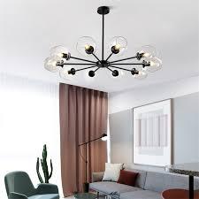 großhandel nordic minimalist molekulare magic bean leuchter le restaurant wohnzimmer hanging light hotel cafe glasdeckenleuchten rwgrowlight
