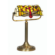 Cedric Hartman Style Lamps by Tiffany Dragonfly Lamp Lighting And Ceiling Fans