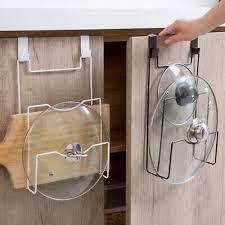 küche pfanne topf kochtopf deckel lagerregal halter schrank