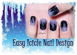 Icicle Nail Design (for Short Nails) - Day 3 | Nail Art ... Easy At Home Nail Designs For Short Nails Hd P 805 Dashing Along With Beginners Lushzone And To Glamorous Cute Simple Gallery Do Cool Designing Classic Art For Short Nails Beautysynergy Top 60 Design Tutorials 2017 781 Ideas Nailgns Ccute It Yourself Summer