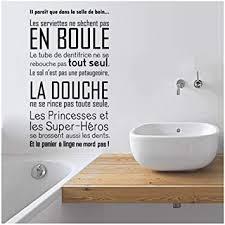 französisch zitate vinyl wandtattoos badezimmer moderne
