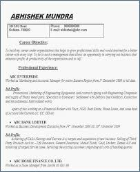 Sample Resume For Management Position Beautiful 32 Unique Resumes Examples