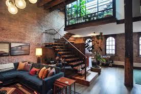 Loft Apartment Interior Design Simple Of Ideas