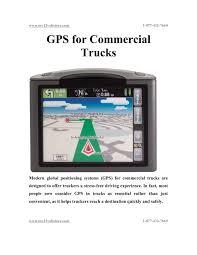 100 Commercial Gps For Trucks Calamo GPS For