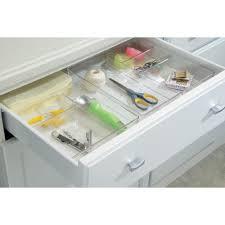 Desk Drawer Organizer Amazon by Amazon Com Interdesign Linus Kitchen Drawer Organizer For
