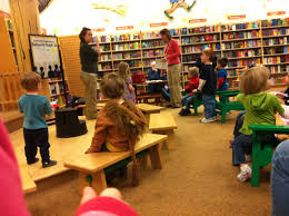 Story Time at Barnes & Noble