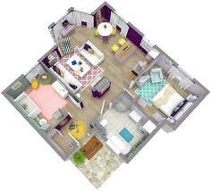 2 Bedroom Home Plans Colors 2 Bedroom Floor Plans Roomsketcher