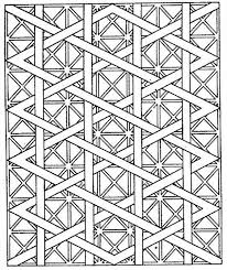 Nice Design Ideas Geometric Coloring Pages For Adults