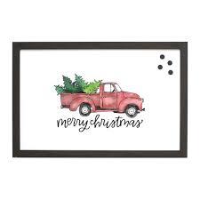 100 Truck Magnet Christmas Seasonal Christmas Board PetalLane