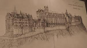 100 Mountain Architects Hogwarts Castle Architecture