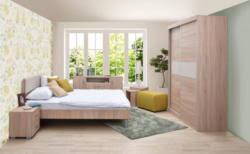 schlafzimmer komplett set p lepe 7 teilig farbe eiche braun creme