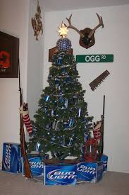 Redneck Christmas Tree A Great Way To Decorate With Beer Cans