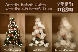 How To Take Artistc Pictures Of Christmas Tree Lights