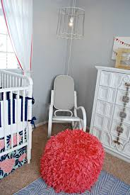 100 Rocking Chair With Pouf Recovering A And Cute Nursery Classy Clutter
