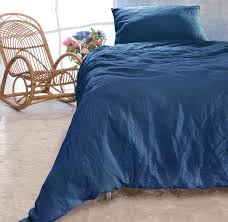 leinen bettwäsche set sintra blau 100 leinen hergestellt in portugal nach öko tex 100