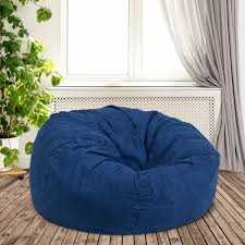 Denim Large Bean Bag Chair Flash Fniture Oversized White Furry Kids Bean Bag Chair 10 Best Chairs Of 20 Versatile Seating Arrangement Solid Light Pink For And Adults Details About Top In 2018 Navy Blue At Target Model Rumah Minimalis Teens Foam Filled With Lounge Pug Cloudsac 200 Sofa Memory Rated Helpful Customer