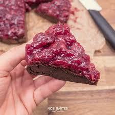 gesunder low carb schoko kirsch kuchen ohne nüsse