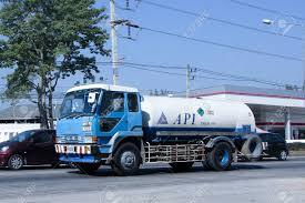 100 26 Truck CHIANG MAI THAILAND DECEMBER 2014 Api Oxygen Stock
