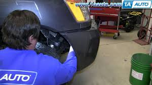 how to install change headlight and bulb 2004 14 nissan titan and