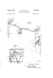 Shaw Walker File Cabinet Lock by Patent Us2793927 Drawer Locking Mechanism Google Patents