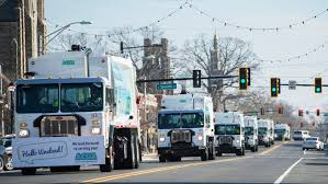 100 Videos Of Trash Trucks Vineland Getting First Look At Trash Truck Fleet It Bought For 2019