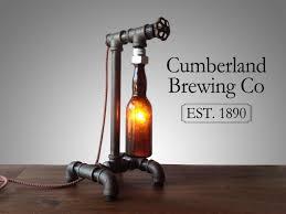 Steam Bottle Industrial DIY Pipe Lamp