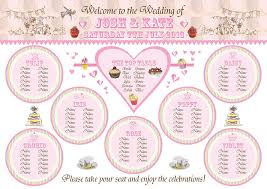 the seating plan the reflective bride