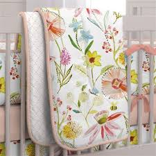 Antique White Crib forters Baby Quilts