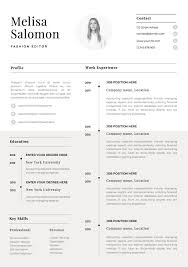 One Page Resume Template With Photo For Word & Pages CV ... Resume Templates The 2019 Guide To Choosing The Best Free Overview Main Types How Choose 5 Google Docs And Use Them Muse Bakchos Professional Template Resumgocom Clean Simple 2 Pages Modern Cv Word Cover Letter References Instant Download Mac Pc Lisa Examples By Real People Dancer 45 Minimalist Pillar Bootstrap 4 Resumecv For Developers 3 Page 15 Student Now Business Analyst Mplates
