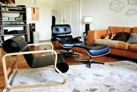 der eames lounge chair in echten wohnungen
