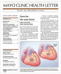 Subscribe or Renew Mayo Clinic Health Letter Magazine Subscription