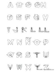Full Image For Bubble Letter C Coloring Page Alphabet Pages Pdf Adults