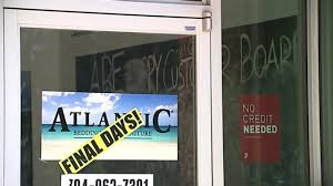 Atlantic Bedding And Furniture Fayetteville Nc by Customers Worried After Furniture Store Closes Suddenly Wsoc Tv