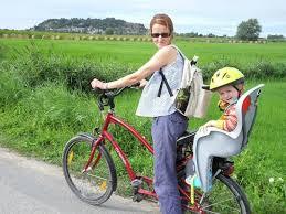 siege velo bébé location vélo avec siège bébé photo de la croix galliot