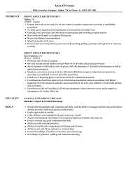 Front Office Receptionist Resume Samples | Velvet Jobs 004 Legal Receptionist Contemporary Resume Sample Sdboltreport Entry Level Objective Topgamersxyz Examples By Real People Front Desk Cv Monstercom Skills Job Description Tips Medical Sample Resume For Front Office Receptionist Sinma Mplate Hotel Good Rumes Tosyamagdaleneprojectorg 12 Invoicemplatez For Office Samplebusinsresume