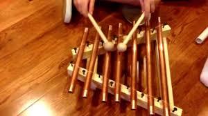 100 Home Made Xylophone DIY Glockenspiel For Kids
