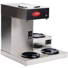 Bunn 2 Burner Coffee Maker Fresh Avantco C30 Pourover Mercial With 3 Warmers 120v