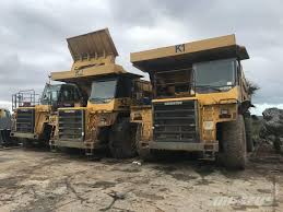 Komatsu -hd-605-7_rigid Dump Trucks Year Of Mnftr: 2002. Pre Owned ...
